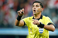 Referee Enrique Caceres during the 2018 FIFA World Cup Russia, Group A football match between Russia and Egypt on June 19, 2018 at Saint Petersburg Stadium in Saint Petersburg, Russia - Photo Stanley Gontha / Pro Shots / ProSportsImages / DPPI