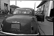 I love Cuba sticker on vintage car.
