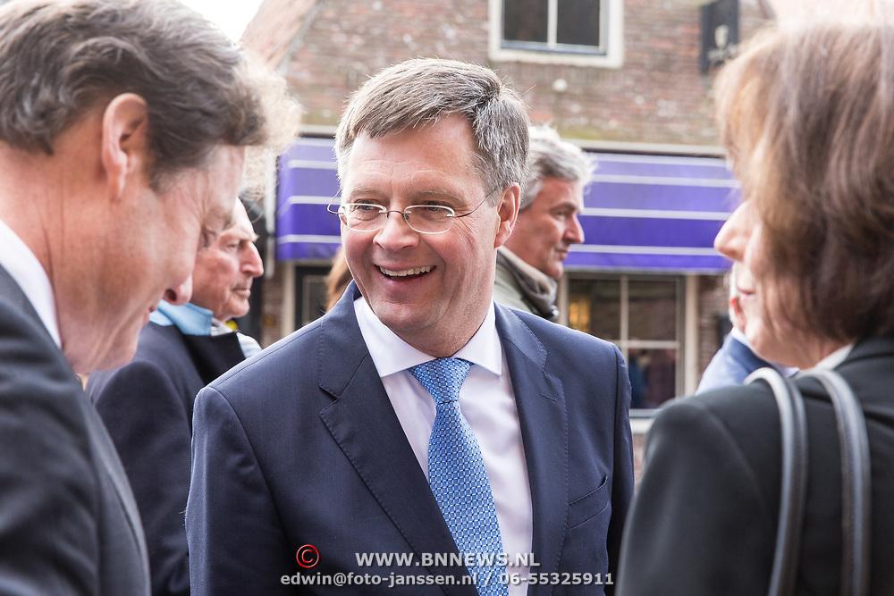 NLD/Naarden/20180330 - Matthaus Passion in de grote kerk van Naarden 2018, Jan Peter Balkenende