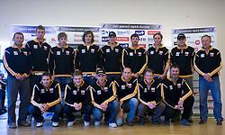 Men Slovenian Alpine Ski Team before new season 2008/2009, on Septembra 25, 2008, Ljubljana, Slovenia. (Photo by Vid Ponikvar / Sportal Images)
