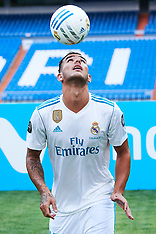 Theo Hernandez signs up to play for Real Madrid - 10 July 2017