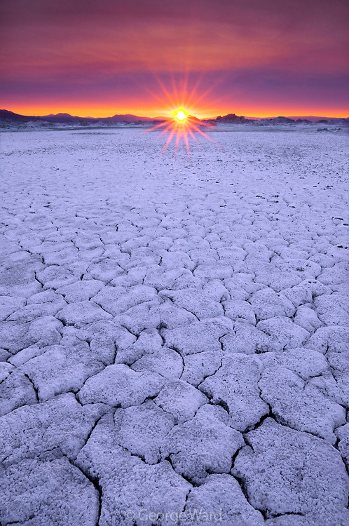 Sunrise on the North Shore of Mono Lake,Mono Basin National Forest Scenic Area, California