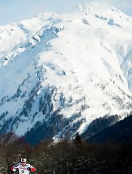 February 2, 2018 - Goms, SWITZERLAND - 180202 Lotta Udnes Weng of Norway competes in the women's 7,5/7,5 km skiathlon during the FIS U23 Cross-Country World Ski Championships on February 2, 2018 in Obergoms..Photo: Vegard Wivestad GrÂ¿tt / BILDBYRN / kod VG / 170095 (Credit Image: © Vegard Wivestad Gr¯Tt/Bildbyran via ZUMA Press)