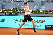 Alexander Zverev of Germany during the Mutua Madrid Open 2021, Masters 1000 tennis tournament on May 6, 2021 at La Caja Magica in Madrid, Spain - Photo Laurent Lairys / ProSportsImages / DPPI