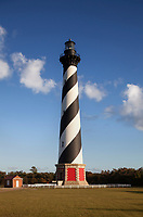 NC00809-00...NORTH CAROLINA - Cape Hatteras Lighthouse in the Cape Hatteras National Seashore near the town of Buxton.
