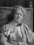 Dame Ethel Smyth, composer and suffragist leader, 1928