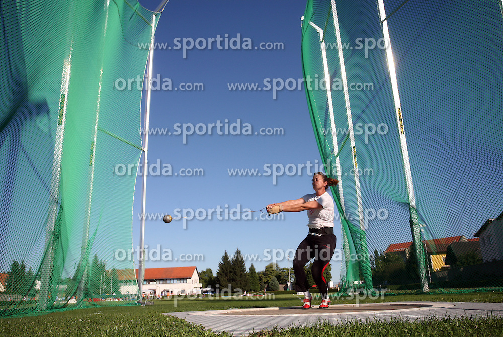 Sanja Gavrilovic  at Athletic National Championship of Slovenia, on July 19, 2008, in Stadium Poljane, Maribor, Slovenia. (Photo by Vid Ponikvar / Sportal Images).