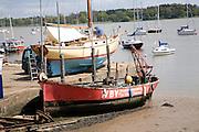 Boats on slipway, River Deben, Waldringfield, Suffolk