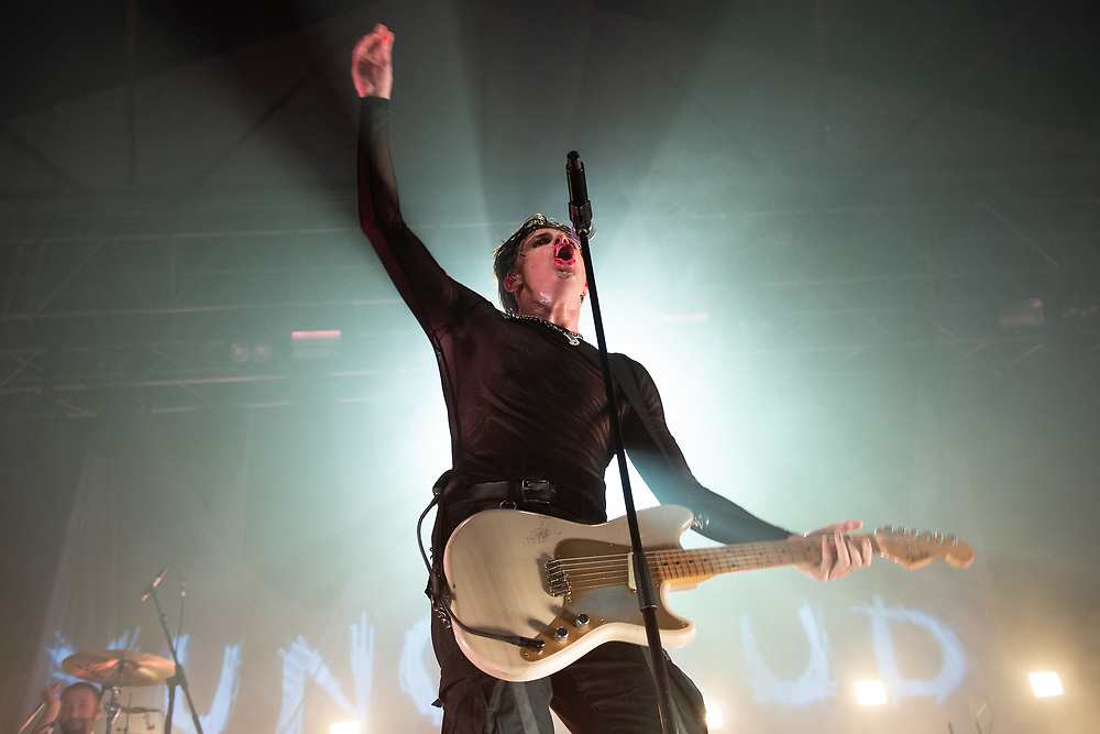 Yungblud live in Concert at The Barrowland Ballroom Glasgow, UK 25th November 2019