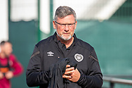 Heart of Midlothian manager Craig Levein makes his way to training at The Oriam Sports Performance Centre, Heriot Watt University, Edinburgh, Scotland on 24 September 2019, ahead of the Betfred Scottish Football League Cup quarter-final match against Aberdeen. Picture by Malcolm Mackenzie