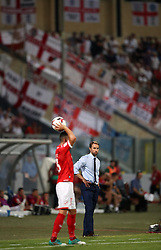 England's Gareth Southgate during the 2018 FIFA World Cup Qualifying, Group F match at the National Stadium, Ta' Qali. PRESS ASSOCIATION Photo. Picture date: Friday September 1, 2017. See PA story SOCCER Malta. Photo credit should read: Nick Potts/PA Wire. RESTRICTIONS: Use subject to FA restrictions. Editorial use only. Commercial use only with prior written consent of the FA. No editing except cropping.
