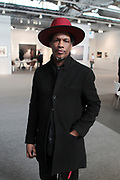 April 8, 2018-New York, New York-United States: Photographic Artist Baron Claiborne attends the Photography Show presented by AIPAD held at Pier 94 on April 8, 2018 in New York City. The Photography Show, held at Pier 94, is the longest-running and foremost exhibition dedicated to the photographic medium, offering contemporary, modern, and 19th century photographs as wells photo-based art, video and new media.(Photo by Terrence Jennings/terrencejennings.com)