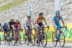 07.07.2017, St. Johann Alpendorf, AUT, Ö-Tour, Österreich Radrundfahrt 2017, 5. Etappe von Kitzbühel nach St. Johann/Alpendorf (212,5 km), im Bild Stefan Denifl (AUT, Team Aqua Blue Sport) im gelben Trikot am Hochtor // Stefan Denifl of Austria (Aqua Blue Sport) in the yellow jersey during the 5th stage from Kitzbuehel to St. Johann/Alpendorf (212,5 km) of 2017 Tour of Austria. St. Johann Alpendorf, Austria on 2017/07/07. EXPA Pictures © 2017, PhotoCredit: EXPA/ Reinhard Eisenbauer