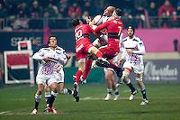 Sergio Parisse - 28.12.2014 - Stade Francais / Racing Club Toulon - 14eme journŽe de Top 14<br />Photo : Aurelien Meunier / Icon Sport