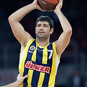 Fenerbahce Ulker's Omer ONAN during their Two Nations Cup basketball match Fenerbahce Ulker between Olimpiakos at Abdi Ipekci Arena in Istanbul Turkey on Saturday 01 October 2011. Photo by TURKPIX