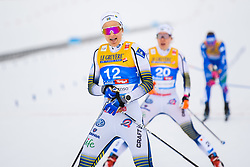 February 21, 2019 - Seefeld In Tirol, AUSTRIA - 190221 Stina Nilsson of Sweden after competing in women's cross-country skiing sprint semi final during the FIS Nordic World Ski Championships on February 21, 2019 in Seefeld in Tirol..Photo: Joel Marklund / BILDBYRN / kod JM / 87879 (Credit Image: © Joel Marklund/Bildbyran via ZUMA Press)