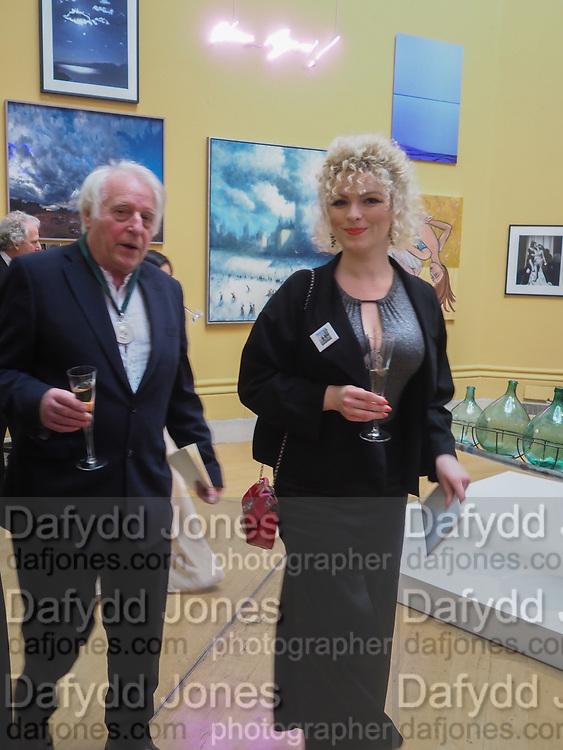MICHAEL SANDL; RA; ELEESA DADIANI, , Royal Academy of Arts Annual Dinner. Burlington House, Piccadilly. London. 6 June 2017