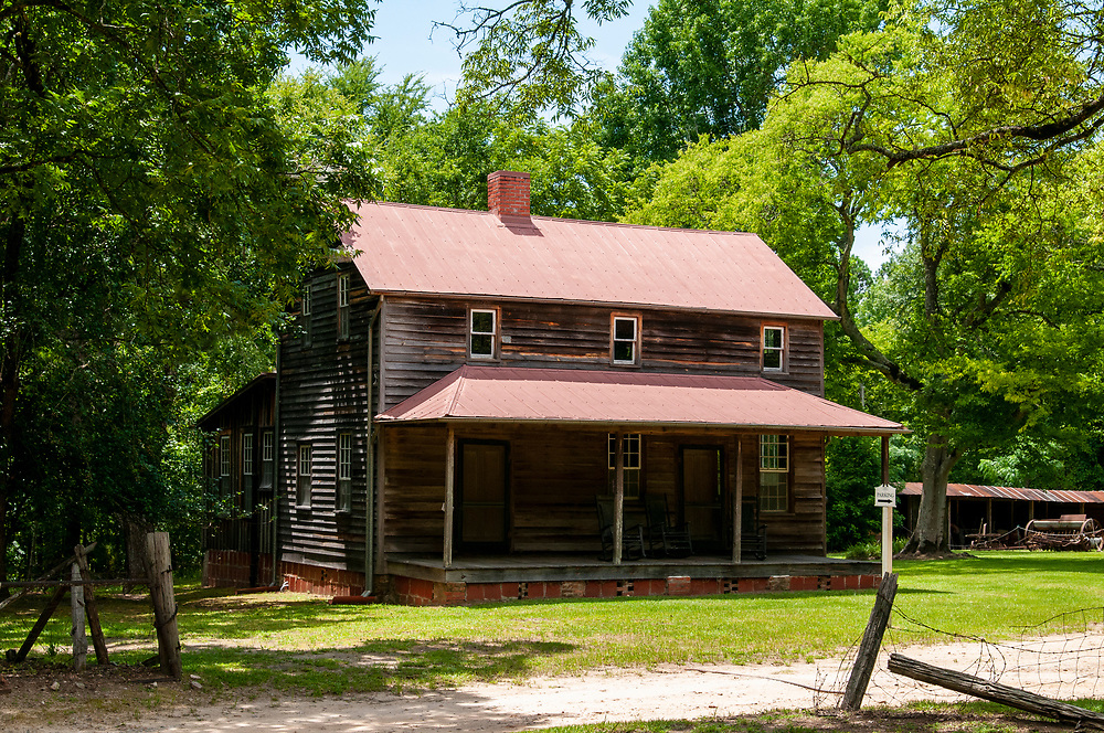 Andalusia, the home of Flannery O'Connor, in Milledgeville, Georgia on Sunday, July 18, 2021. Copyright 2021 Jason Barnette