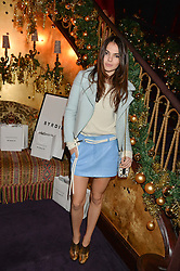DOINA CIOBANU at the UK launch of WhoWhatWear UK held at Loulou's, Hertford Street, London on 24th November 2015.