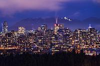Vancouver, Night Illumination
