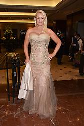 Friederike Krum at The Asian Awards, The Hilton Park Lane, London England. 5 May 2017.<br /> Photo by Dominic O'Neill/SilverHub 0203 174 1069 sales@silverhubmedia.com