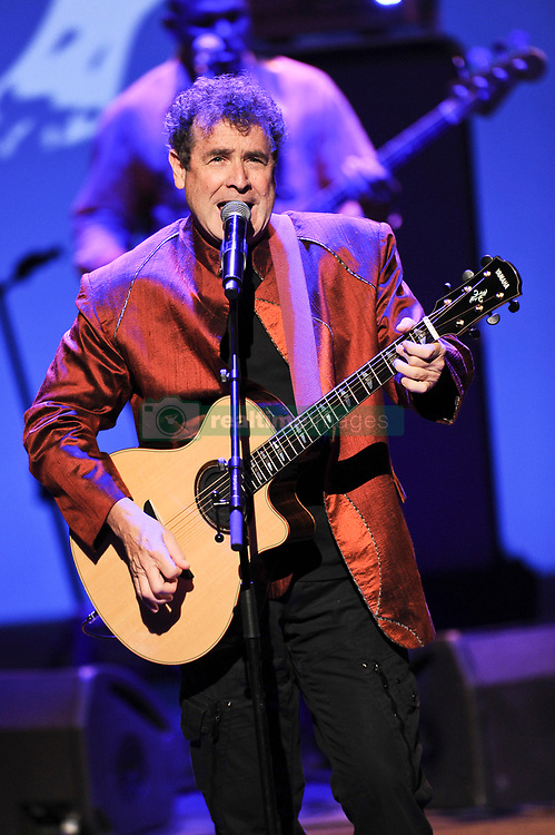 "File photo - South African singer Johnny Clegg performs during ""A touch of Africa "" Gala Night in Monte Carlo, Monaco on September 29, 2012 to open the winter season of SBM with a gala night in honour of South Africa and a Johnny Clegg's live concert at the Salle Garnier. Clegg, has died at the age of 66, after a long battle with pancreatic cancer. Known as the ""white Zulu"", he was a vocal critic of the apartheid government which ruled until 1994.<br /> The British-born musician, who uniquely blended western and Zulu music, was diagnosed with cancer in 2015. Photo by David Nivirere/Pool/ABACAPRESS.COM"