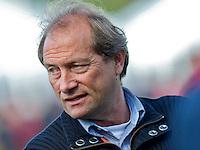 BLOEMENDAAL - Laren coach Roelant Oltmans, hoofdklasse competietiewedstrijd heren tussen Bloemendaal en Laren (9-1).  Foto KOEN SUYK