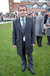 Actor Michael Le Vell at the Hennessy Gold Cup 2009 held at Newbury Racecourse, Berkshire on 28th November 2009.