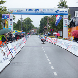 VELDHOVEN (NED) July 4 <br /> CYCLING <br /> The first race of the Schwalbe Topcompetition the Simac Omloop der Kempen<br /> Finish straat