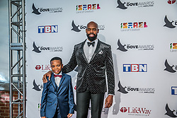 October 11, 2016 - Nashville, Tennessee, USA - Derek Blanks at the 47th Annual GMA Dove Awards  in Nashville, TN at Allen Arena on the campus of Lipscomb University.  The GMA Dove Awards is an awards show produced by the Gospel Music Association. (Credit Image: © Jason Walle via ZUMA Wire)