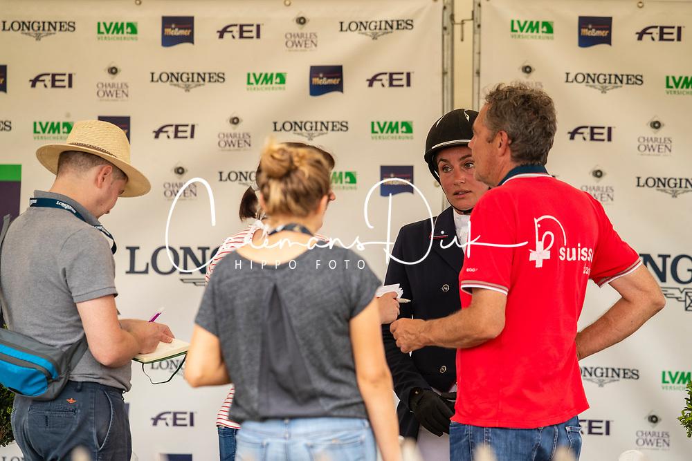 Gonfard Roxane, SUI<br /> European Championship Eventing<br /> Luhmuhlen 2019<br /> © Hippo Foto - Dirk Caremans