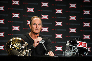 DALLAS, TX - JULY 21:  Baylor head coach Art Briles speaks during the Big 12 Media Day on July 21, 2014 at the Omni Hotel in Dallas, Texas.  (Photo by Cooper Neill/Getty Images) *** Local Caption *** Art Briles