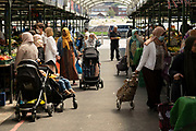 As the coronavirus restrictions continue and the government is about to announce an extension to the original freedom day planned for June, slowing the process of easing, more and more people begin to come to the city centre, seen here at the open market on 15th June 2021 in Birmingham, United Kingdom. After months of lockdown, the first signs that life will start to get back to normal continue, with more people enjoying the company of others in public, while uncertainty continues for a projected further month, which is being dubbed The final push.