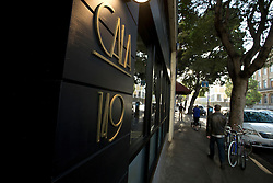 The facade of Cala, the first U.S. restaurant from Mexican chef Gabriela Camara, Monday, April 4, 2016, on Fell Street in San Francisco, Calif. (Photo by D. Ross Cameron)