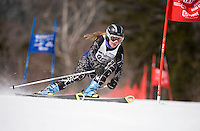 MJ's Race giant slalom first run ladies  Waterville Valley, NH  March 26, 2010.