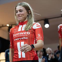 10-12-2019: Wielrennen: Teampresentatie Sunweb: Amsterdam: Julia Soek