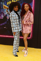 May 2, 2019 - New York City, New York, U.S. - Actors/singers (L) REGAN ALIYAH and RYAN ASHER (R) from the group RYBE  attend the US premiere of Pokemon Detective Pikachu held at Military Island Times Square. (Credit Image: © Nancy Kaszerman/ZUMA Wire)
