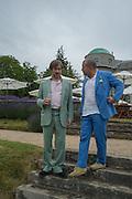MARC NEWSON; SIR JONATHAN IVE, Goodwood Festival of Speed Cartier lunch. 27 June 2015