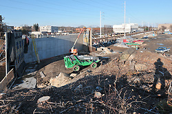 Construction Progress Photography of the Railroad Station at Fairfield Metro Center - Site visit 6 of once per month Chronological Documentation.