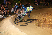 1st placed Joost Wichman NED on the Crankworx Rotorua pumpl track challenge