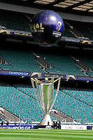 Animation - 01.05.2015 - Captains' Run de Clermont avant la finale - European Rugby Champions Cup -Twickenham -Londres<br /> Photo : David Winter / Icon Sport