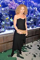 KELLY HOPPEN at a dinner hosted by Creme de la Mer to celebrate the launch of Genaissance de la Mer The Serum Essence held at Sexy Fish, Berkeley Square, London on 21st January 2016.