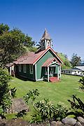 Hawaiian church, Kahakuloa, Maui, Hawaii<br />