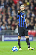 Inter Milan midfielder Marcelo Brozovic (77) during the Champions League group stage match between Tottenham Hotspur and Inter Milan at Wembley Stadium, London, England on 28 November 2018.