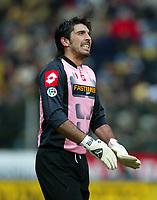 Parma 16 Febbraio 2003<br />Parma - Juventus 1-2<br />Gianluigi Buffon