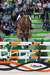 Danielle Goldstein, (ISR), Carisma - Team & Individual Competition Jumping Speed - Alltech FEI World Equestrian Games™ 2014 - Normandy, France.<br /> © Hippo Foto Team - Leanjo De Koster<br /> 02-09-14