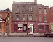 Old amateur photos of Dublin streets churches, cars, lanes, roads, shops schools, hospitals, Tom Ryan's Callery 30 Oifig an Poist