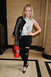 POPPY JAMIE at the Gyunel Spring Summer 2015 fashion show as part of London Fashion week 2015 held at Victoria House, Bloomsbury Square, London on 12th September 2014.