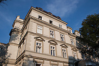 Building Facade in Krakow Poland