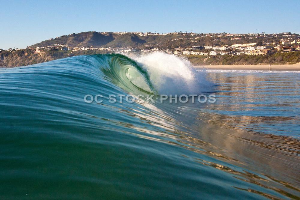Surf at Salt Creek at Monarch Beach in Dana Point